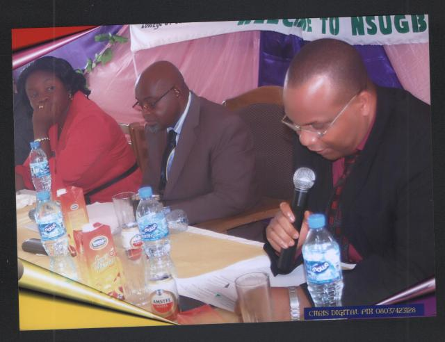 DURING THE RECENT CONFERENCE OF ASSOCIATION FOR ENCOURAGING QUALITATIVE EDUCATION IN NIGERIA (ASSEQEN)
