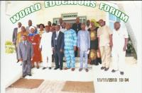 WORLD EDUCATORS FORUM IN SIERRA LEONE, 11TH - 15TH NOVEMBER, 2013