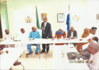 2ND INTERNATIONAL CONFERENCE AT HILL VALLEY HOTEL, SIERRA LEONE. THIS IS THE COURTESY CALL ON THE AMBASSADOR OF NIGERIA